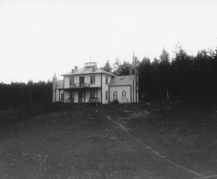 Chalet et Chapelle San tonio vers 1907-1909