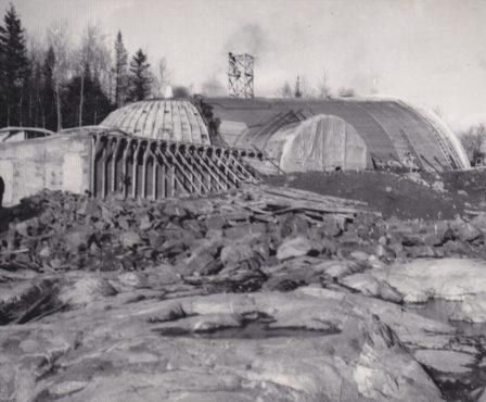 Construction chapelle Mariale 1950