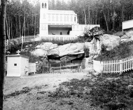 Grotte et Masabielle vers 1912-1915