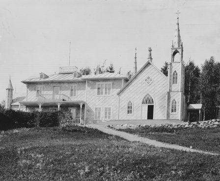 chalet du fondateur vers 1921